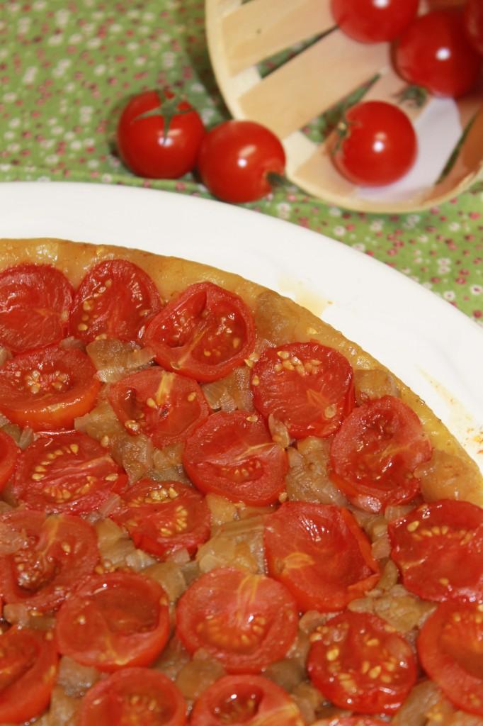 Tatin de tomates cerises dans Pour bien commencer... img_5611