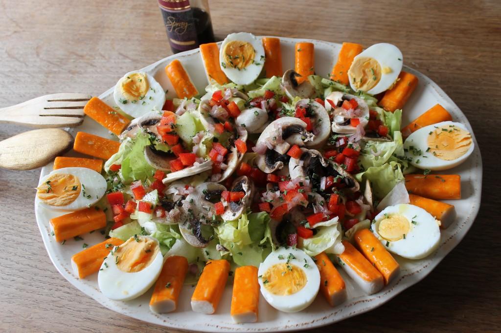 Salade toute fraicheur dans Pour bien commencer... img_6014