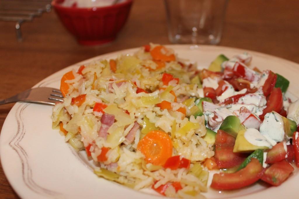 Riz aux légumes dans Viandes, légumes ou Poissons, de quoi en faire un plat img_6157