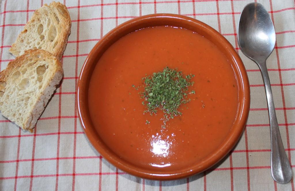 Potage la tomate mon p 39 tit carnet de recettes - Potage a la tomate maison ...